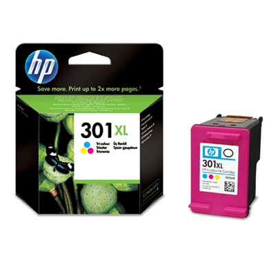 Blister/HP 301XL Tri-color Ink Cartridge