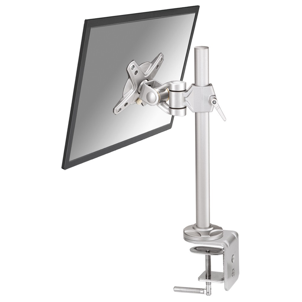 "Desk Mount 10-30"" Clamp Full Motion SILV"