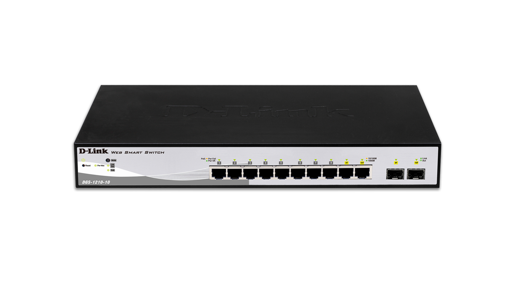 10-Prt Gigabit Smart Switch w 2 SFP prts