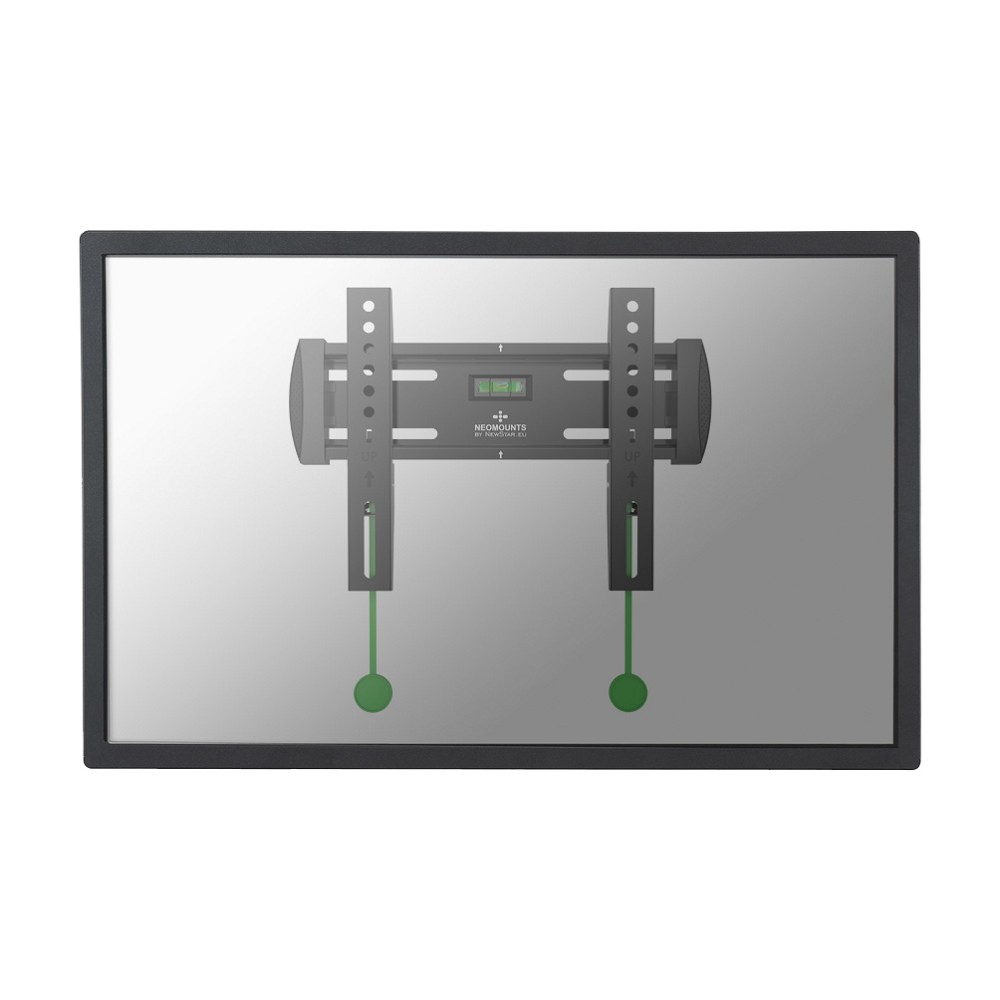 "Wall Mount 20-40"" Fixed BLACK"