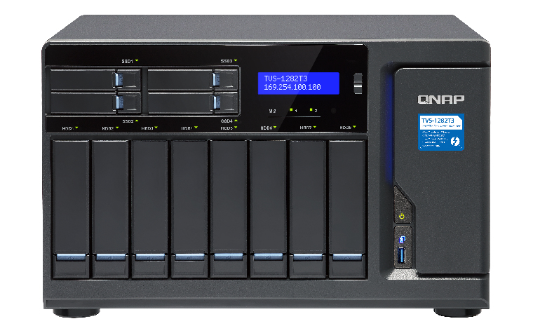 12-Bay TurboNAS SATA 6G Core 16GB RAM
