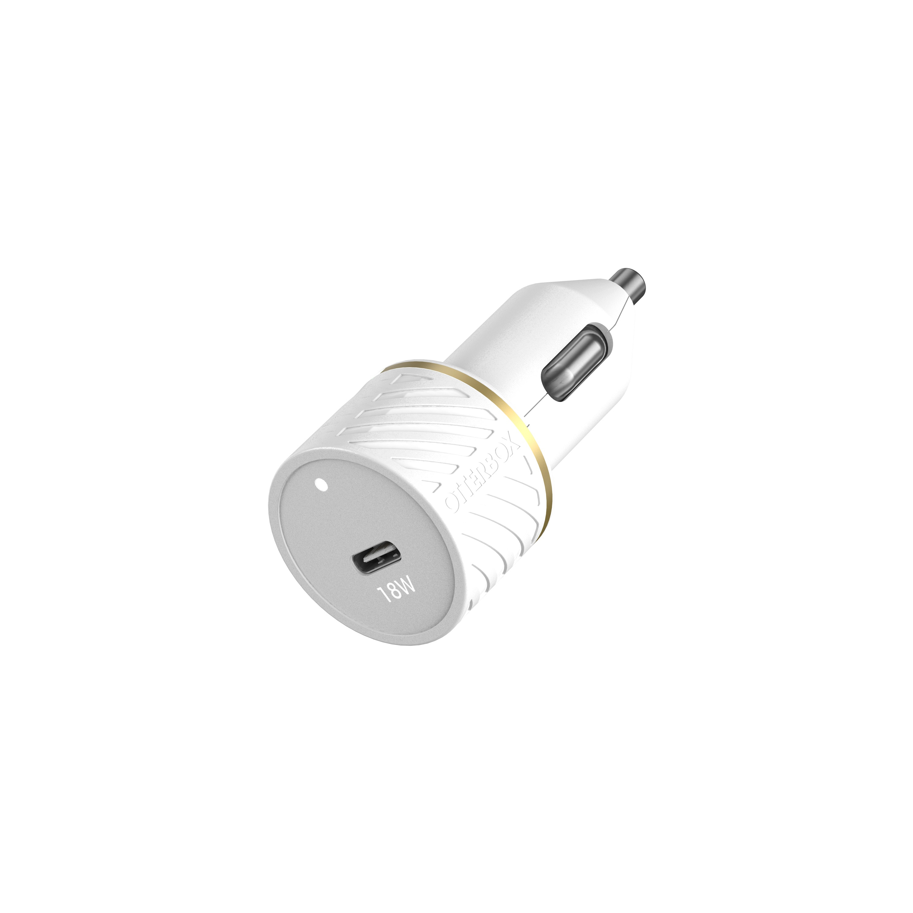Car Charger 18W USB C 18W White
