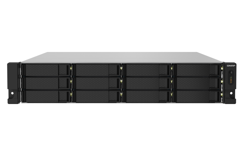 12-Bay NAS quad-core 1.7 GHz rackmount