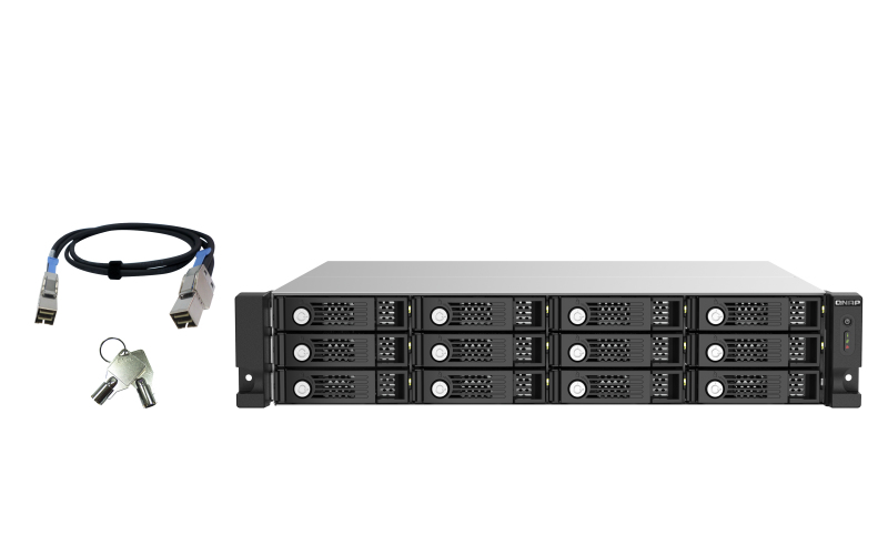 12-bay 2U RM SAS 12Gbps JBOD expansion